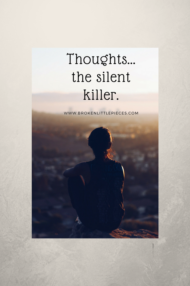 Thoughts… the silent dream killer.